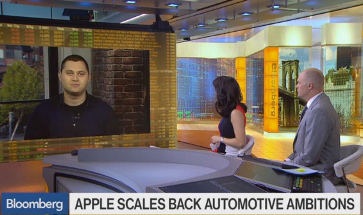 Apple похоронила свой проект по созданию электромобиля?