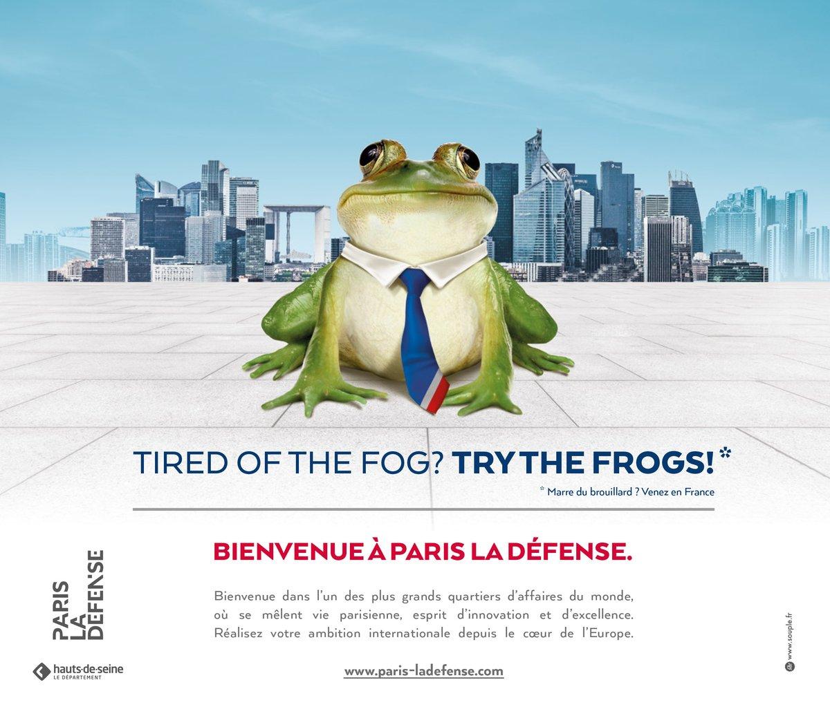 Французы переманивают бизнес из Лондона предлагая попробовать лягушек