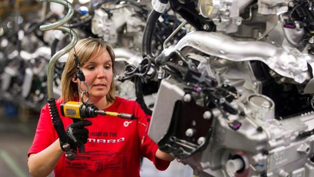Продажи в производственном секторе Канады выросли лучше прогноза
