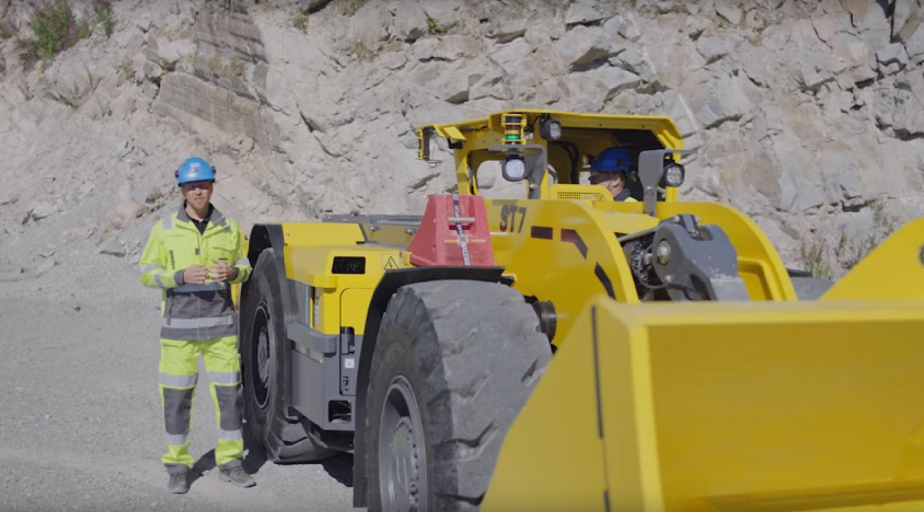 Горные выработки станут чище и безопаснее с беспроводным оборудованием Atlas Copco