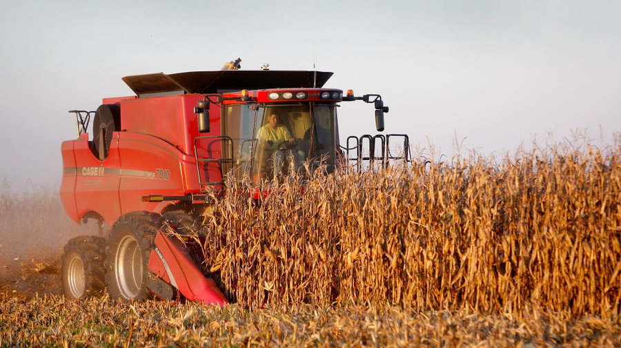 Американские фермеры ждут обвала цен на оборудование