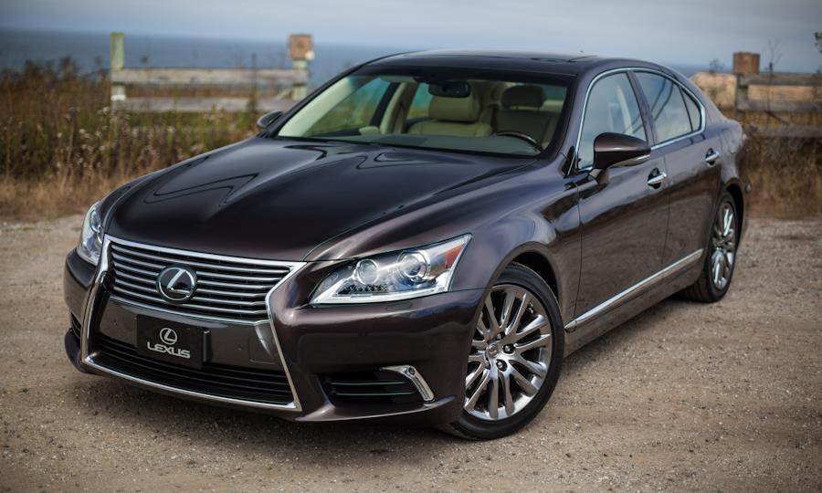 Новый облик элитного Lexus LS: уже совсем скоро