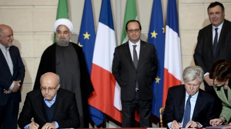 Иран подписал меморандум с Total впервые после снятия западных санкций