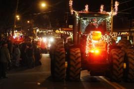 В Гринвиче пройдет парад светящихся тракторов