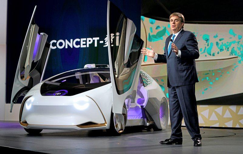Toyota представляет автомобиль с искусственным интеллектом