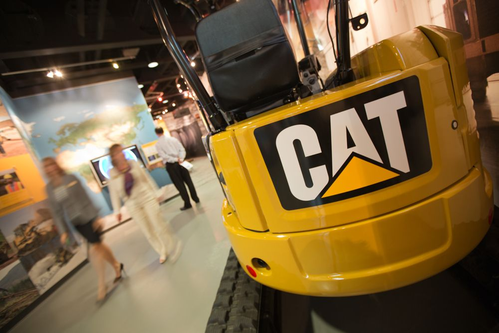 Caterpillar представит в октябре новейшее оборудование для горных работ