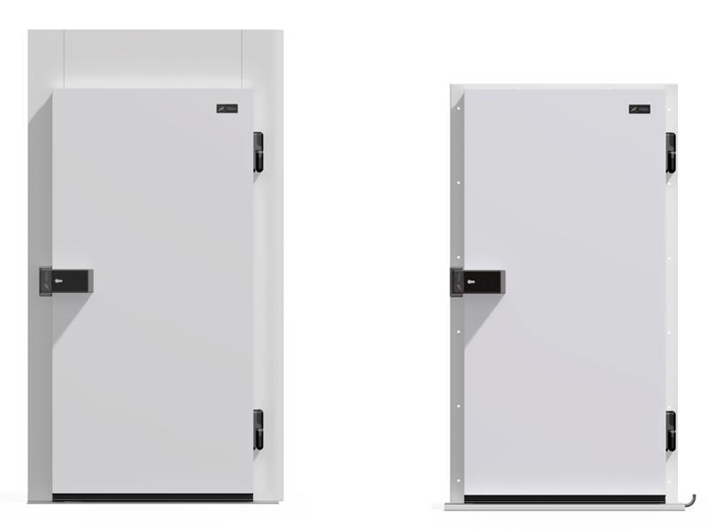 Как подобрать холодильные двери