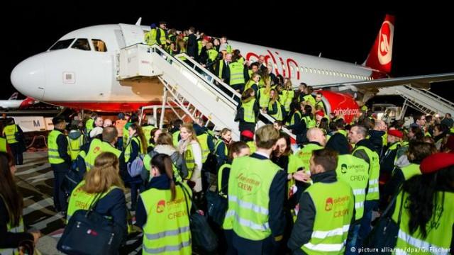 Авиакомпания Air Berlin прекратила полеты