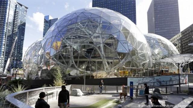 Amazon выбирает город-резиденцию для второй штаб-квартиры: от желающих нет отбоя