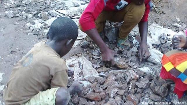 AI: Мировые компании наживаются на детской труда в Конго