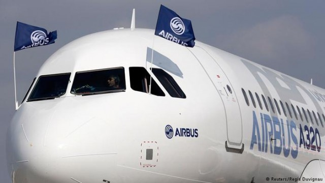 Airbus заключил рекордную сделку на продажу самолетов