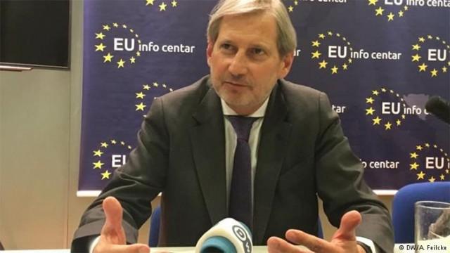 Еврокомиссар Ган: Оснований запускать новый инвестиционный план для Украины нет