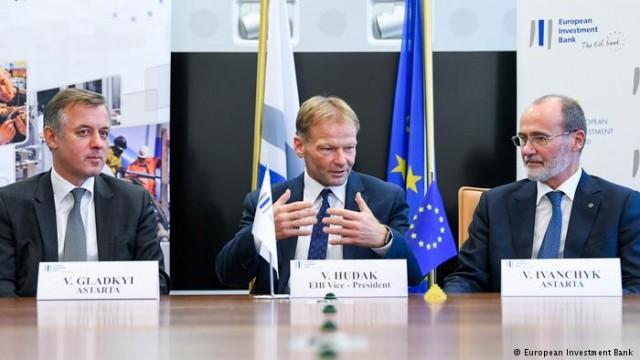 """ЕИБ подписал соглашение о первой """"инновационную"""" заем для Украины"""