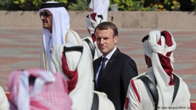 Макрон в Катаре договорился о бизнес-соглашении на 12 000 000 000 евро