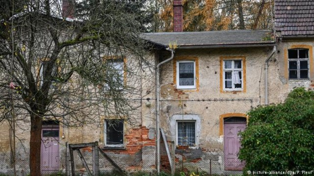 Восточногерманское поселения ушло с молотка за 140000 евро