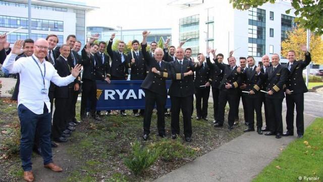 Из-за забастовки в Ryanair впервые заявили о признании профсоюзов пилотов