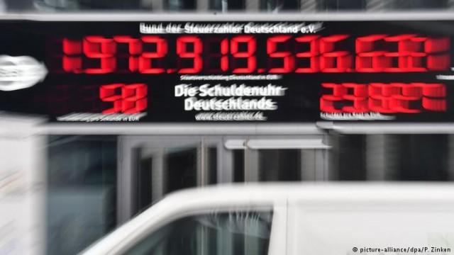 Долговой счетчик Германии ушел в обратную сторону