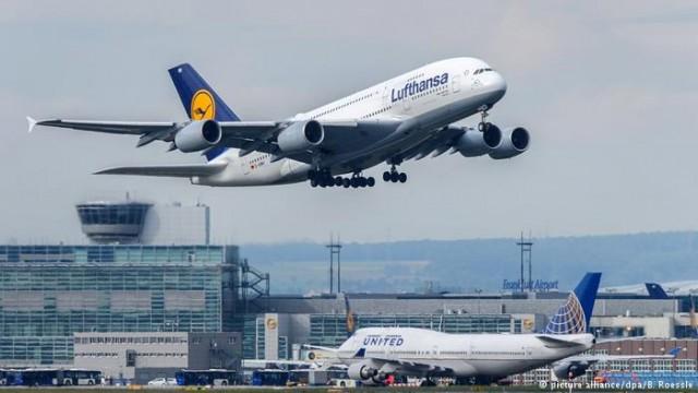 Lufthansa в 2017 году опередила Ryanair по числу пассажиров