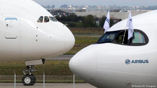 Аirbus похвастался большей Boeing количеством заказов в 2017 году