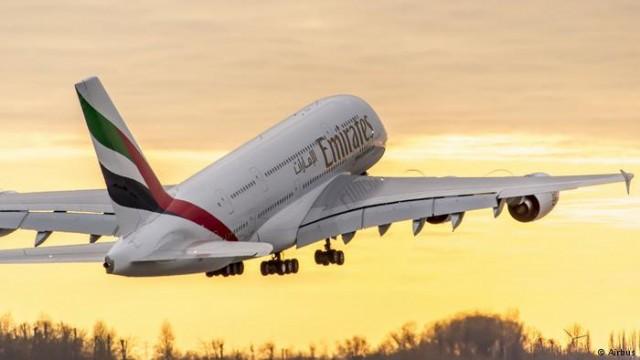 Авиакомпания Emirates заказала у Airbus 36 самолетов-гигантов A380