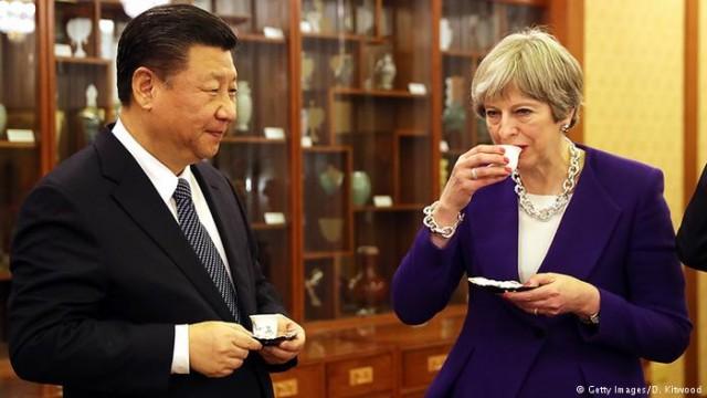 """Тереза Мэй пообещала """"золотую эру"""" в отношениях Лондона с Китаем"""