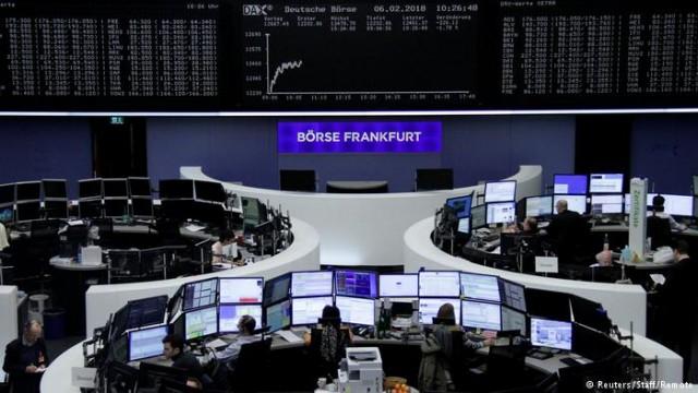 Обвал на фондовом рынке США встряхнул биржами Азии и Европы