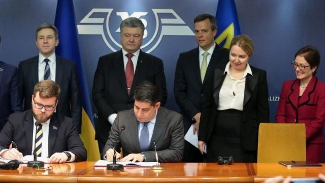 Соглашение на миллиард Укрзализныця купит у США 30 тепловозов