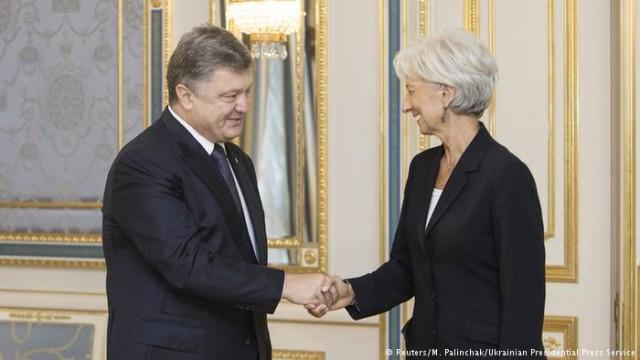 Покер с МВФ: на что рассчитывает Порошенко?