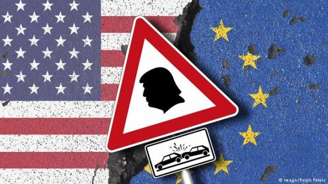 ЕС требует от США освободить его от пошлин на сталь и алюминий