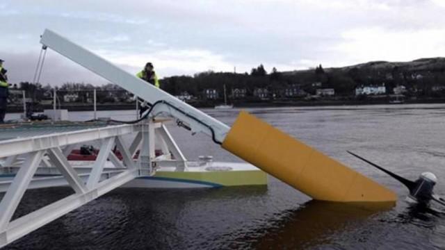 Немецкий изобретение для приливных электростанций (видео)
