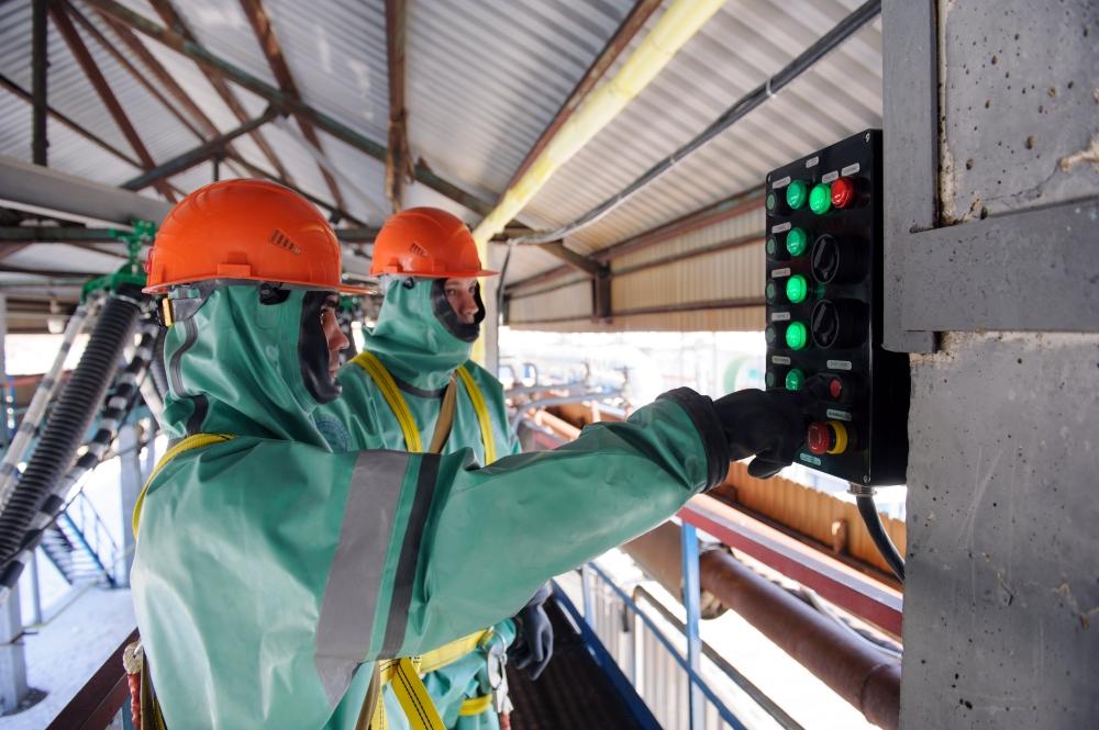 Уникальный комплекс по мойке химических контейнеров-цистерн Kärcher запущен в Новокуйбышевске