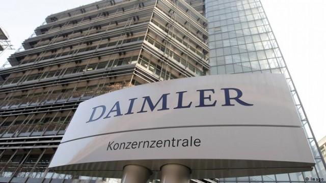 В Германии проверят выбросы почти миллиона автомобилей Daimler