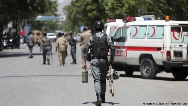 Теракт в Кабуле: более десяти погибших