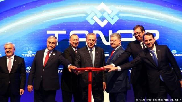 """TANAP будет поставлять каспийский газ в Европу, но """"Газпром"""" это не пугает"""