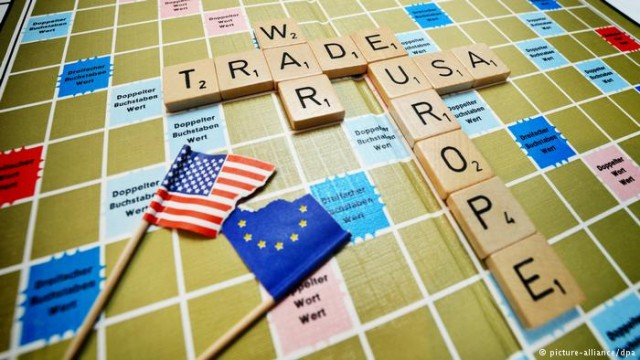 Торговая война между США и ЕС простыми словами (видео)