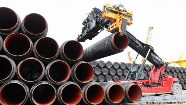 """ФРГ не имеет гарантий от США относительно неприменения санкций к """"Северному потоку-2"""""""