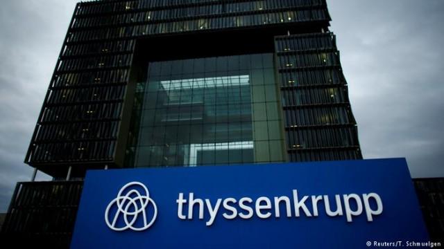 Промышленный гигант Thyssenenkrupp согласовал слияние с Tata Steel