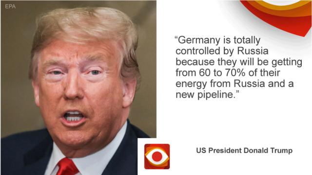 Проверка фактов: сколько газа Германия импортирует из России