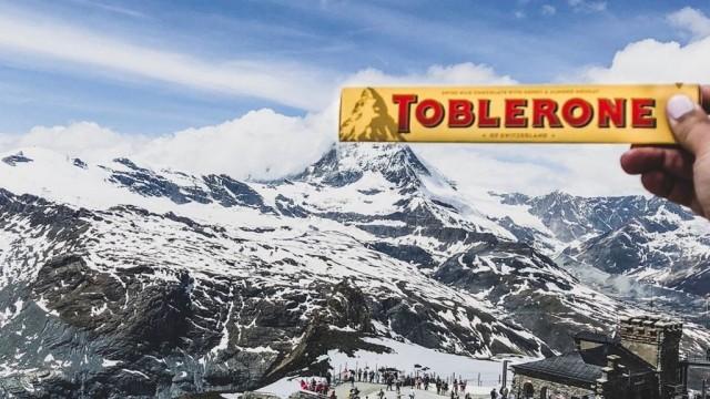 В Британии шоколада Toblerone вернут старый дизайн