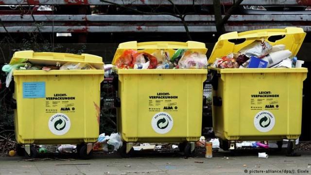В Германии люди оставляют после себя больше упаковочного мусора в Европе