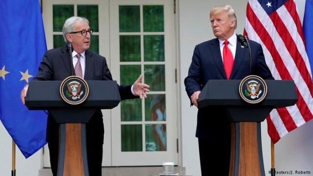 Договоренности Юнкера и Трампа в Берлине и Париже восприняли по-разному
