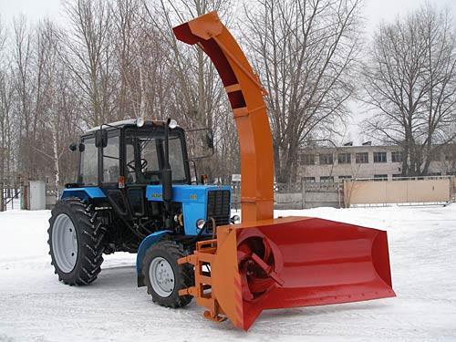 Эффективная снегоуборочная техника