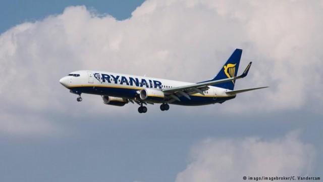 Ryanair 3 сентября начнет полеты между Киевом и Берлином