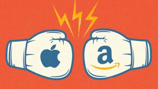 Apple против Amazon: битва титанов