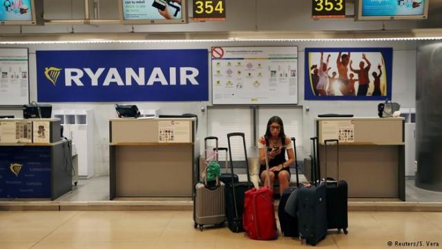 Забастовка пилотов и бортпроводников Ryanair в Германии начался