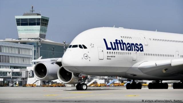 Lufthansa отменила этого года 18000 рейсов