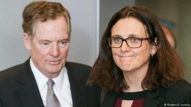 Торговая спор между США и ЕС остается открытой - Мальмстрем