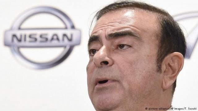 Правление Nissan освободило после ареста многолетнего голову Карлоса Гона