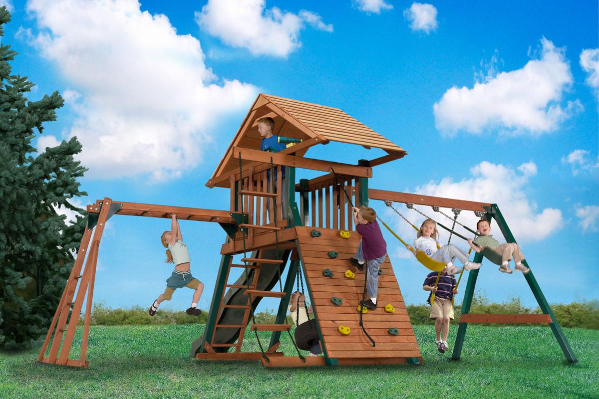 Онлайн покупка и заказ установки детской площадки