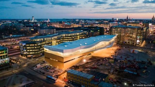 Как финны развивают Хельсинки под землей (видео)